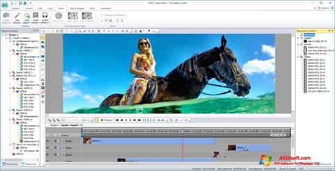 스크린 샷 VSDC Free Video Editor Windows 10