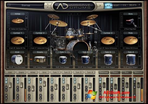 스크린 샷 Addictive Drums Windows 10