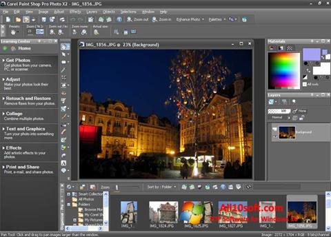 스크린 샷 PaintShop Pro Windows 10