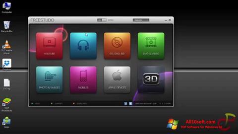 스크린 샷 Free Studio Windows 10