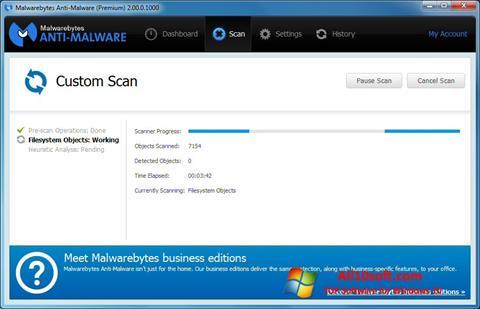스크린 샷 Malwarebytes Anti-Malware Free Windows 10