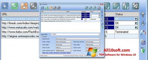 스크린 샷 VideoGet Windows 10
