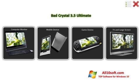 스크린 샷 Bad Crystal Windows 10