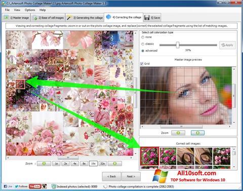 스크린 샷 Photo Collage Maker Windows 10
