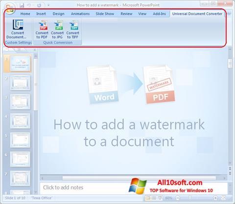 스크린 샷 Microsoft PowerPoint Windows 10