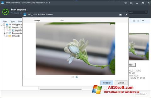 스크린 샷 USB Flash Drive Recovery Windows 10