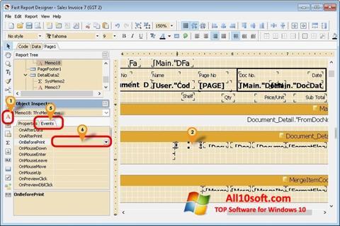 스크린 샷 FastReport Windows 10