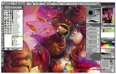 스크린 샷 Corel Painter Windows 10
