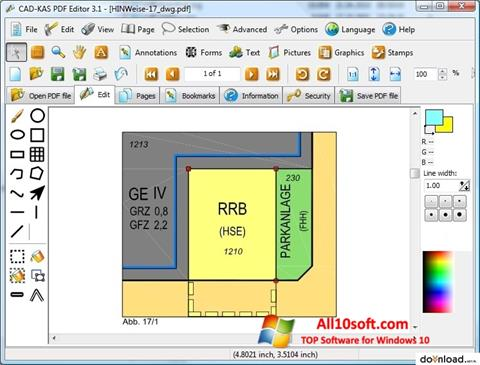 스크린 샷 PDF Reader Windows 10