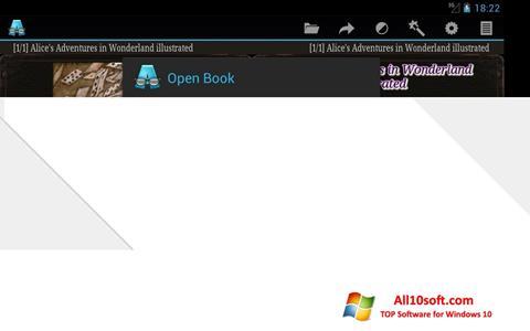 스크린 샷 AlReader Windows 10