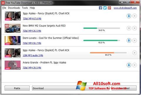 스크린 샷 Free YouTube Download Windows 10