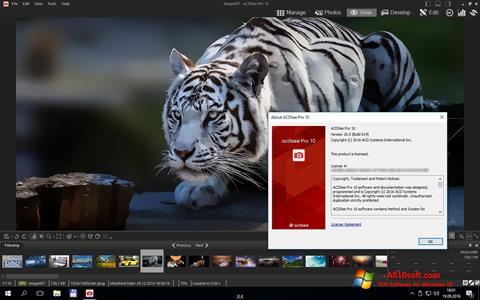 스크린 샷 ACDSee Pro Windows 10