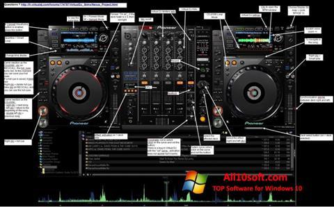 스크린 샷 Virtual DJ Windows 10